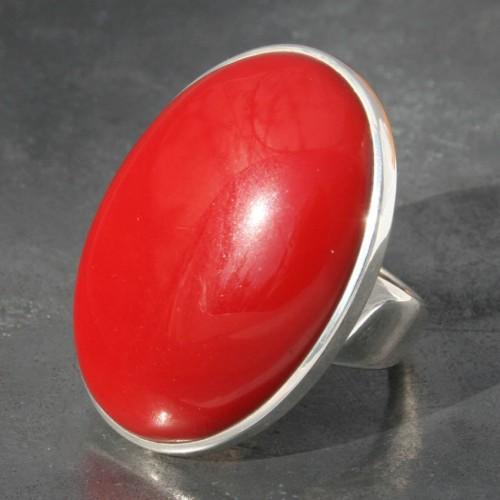 Red Jasper Ring
