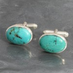 Turquoise Cufflinks 1a