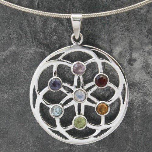 Chakra Flower Faceted