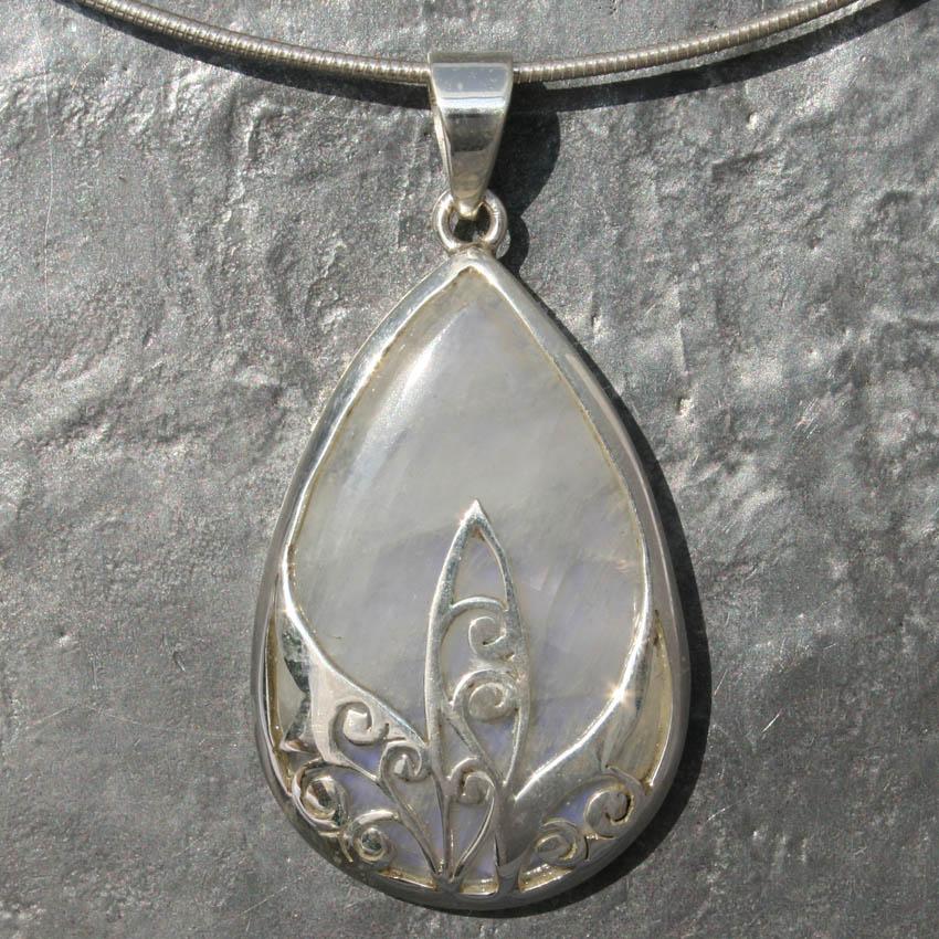 Designer pendants product categories lumina jewellery designer filigree moonstone pendant aloadofball Gallery