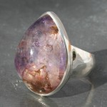 Elestial Teardrop Ring a