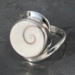 Shiva's Eye Twist Ring