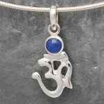 AUM with Lapis Small