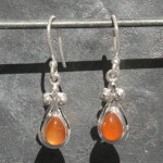 Carnelian Earrings 1