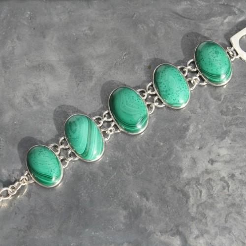 Malachite Bracelet 1a