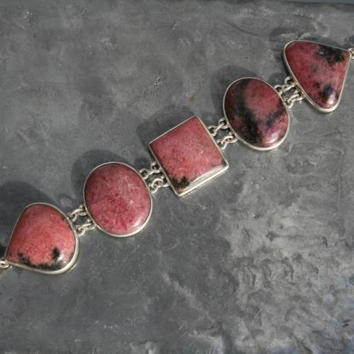 Rhodonite Bracelet 1a