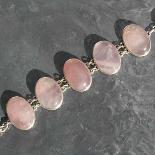 Rose Quartz Bracelet 1a