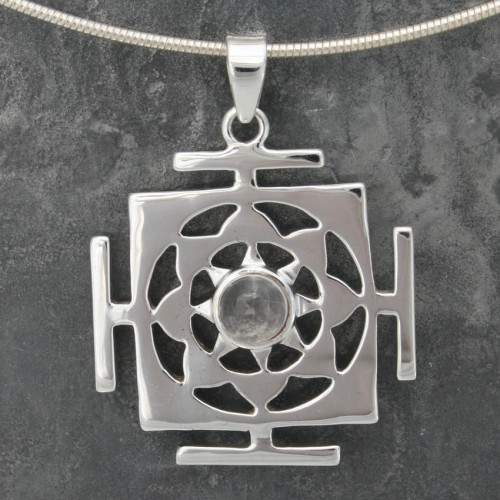 Yantra with Rose Quartz