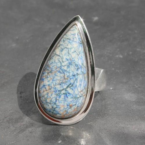 Azurite adj Ring