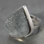 Black druzy Ring a