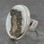 E opal Agate ring
