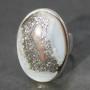 E opal Agate ring a