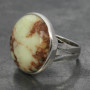 Lemon Crysoprase ring