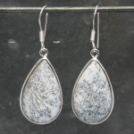 Opal Dendrite Earrings