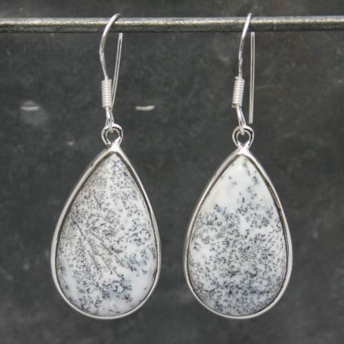 Opal Dendrite Earrings
