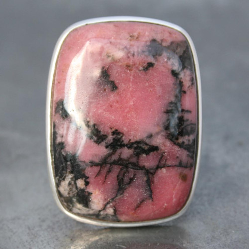 Rhodonite adj ring a