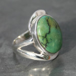 Turquoise Twist ring a