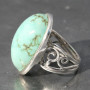 Turquoise wb ring a