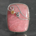 Designer Peruvian opal ring