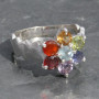 Chakra faceted ring with wave2