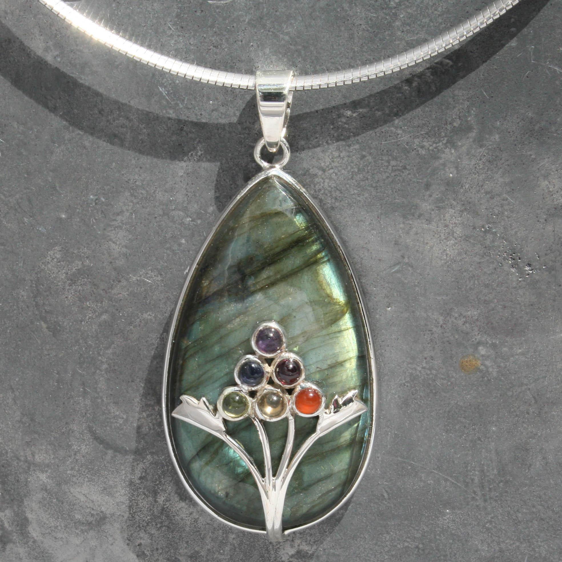 Designer pendants product categories lumina jewellery designer chakra labradorite pendant aloadofball Image collections