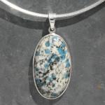 K2 stone pendant