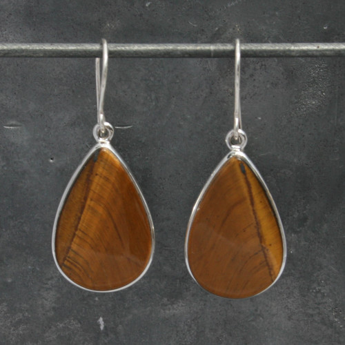 Tiger eye's td earring