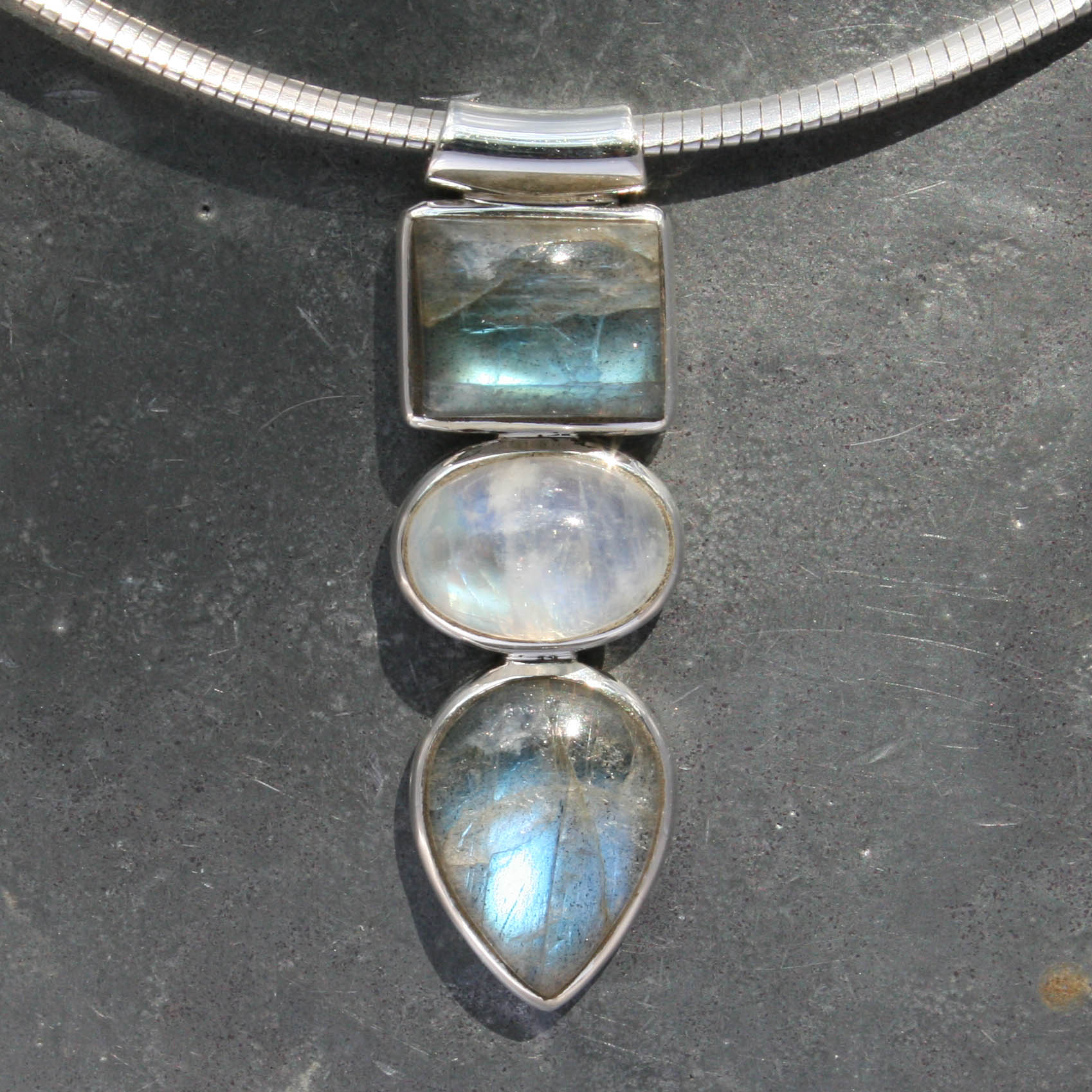 pendant tree jewellery labradorite silver ishka products wire