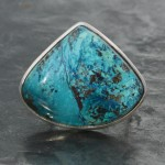 Azurite Ring adjustable