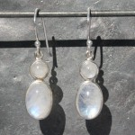 Earrings 2 Moonstone