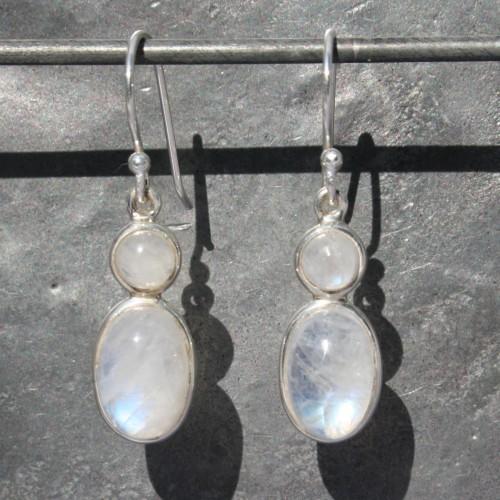 Earrings 2 Moonstone