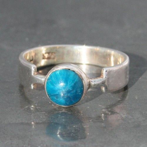 Cavansite Ring