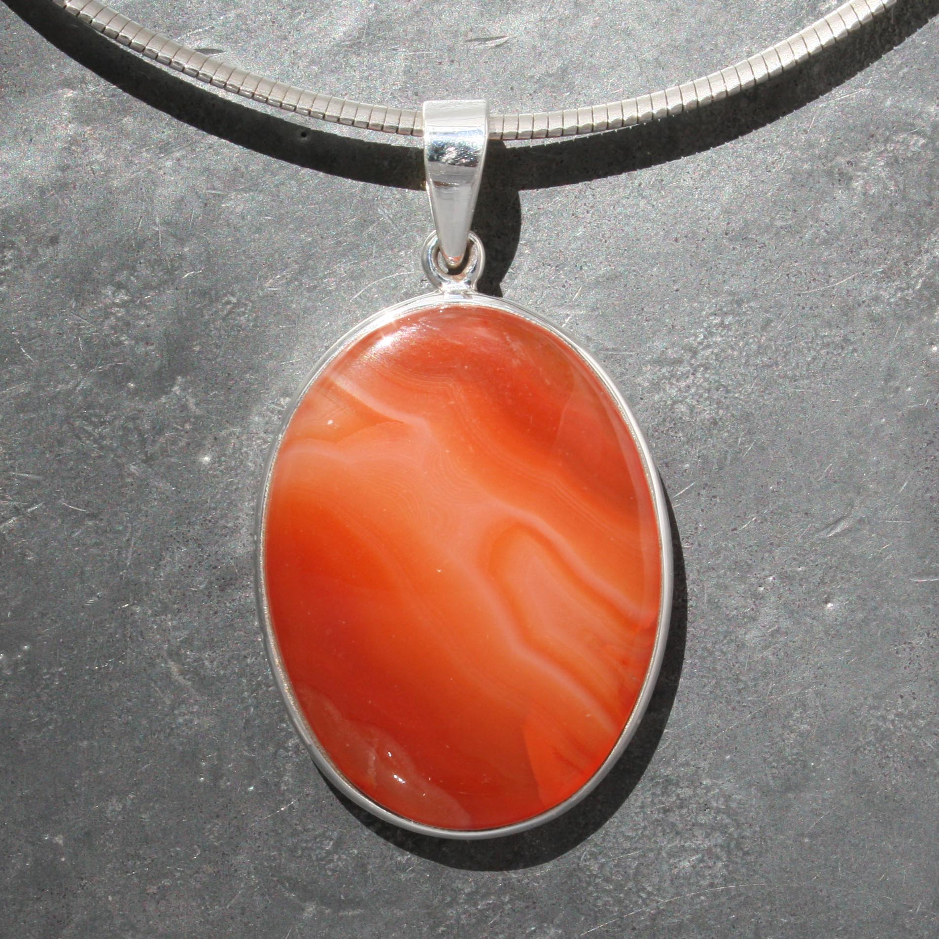 carved lane jewelry sterling carnelian with pendant lovely ruby f chain flower pic