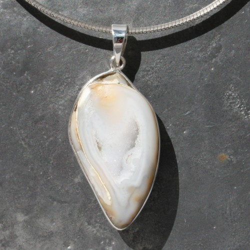Fossil Shell Pendant
