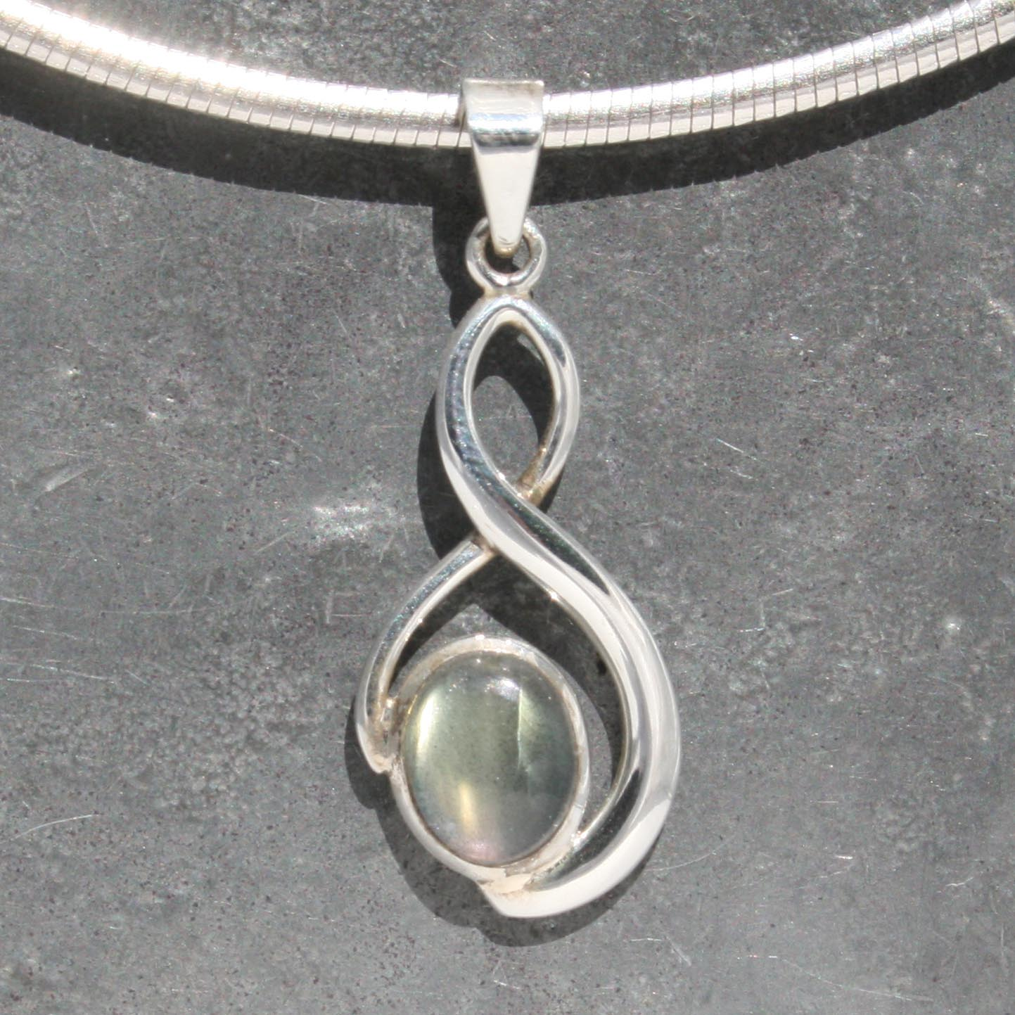 a jewelry labradorite unique one sterling by necklace stone and of silver handmade kind pendant lizardi