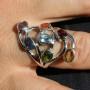 Chakra Ring oval stone 2