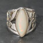 Ethopian Opal Filgiri Ring