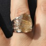 Faceted Rutite Quartz Ring 2