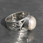 Fresh Water Pearl Filgree Ring 1