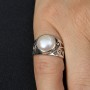 Fresh Water Pearl Filgree Ring 2