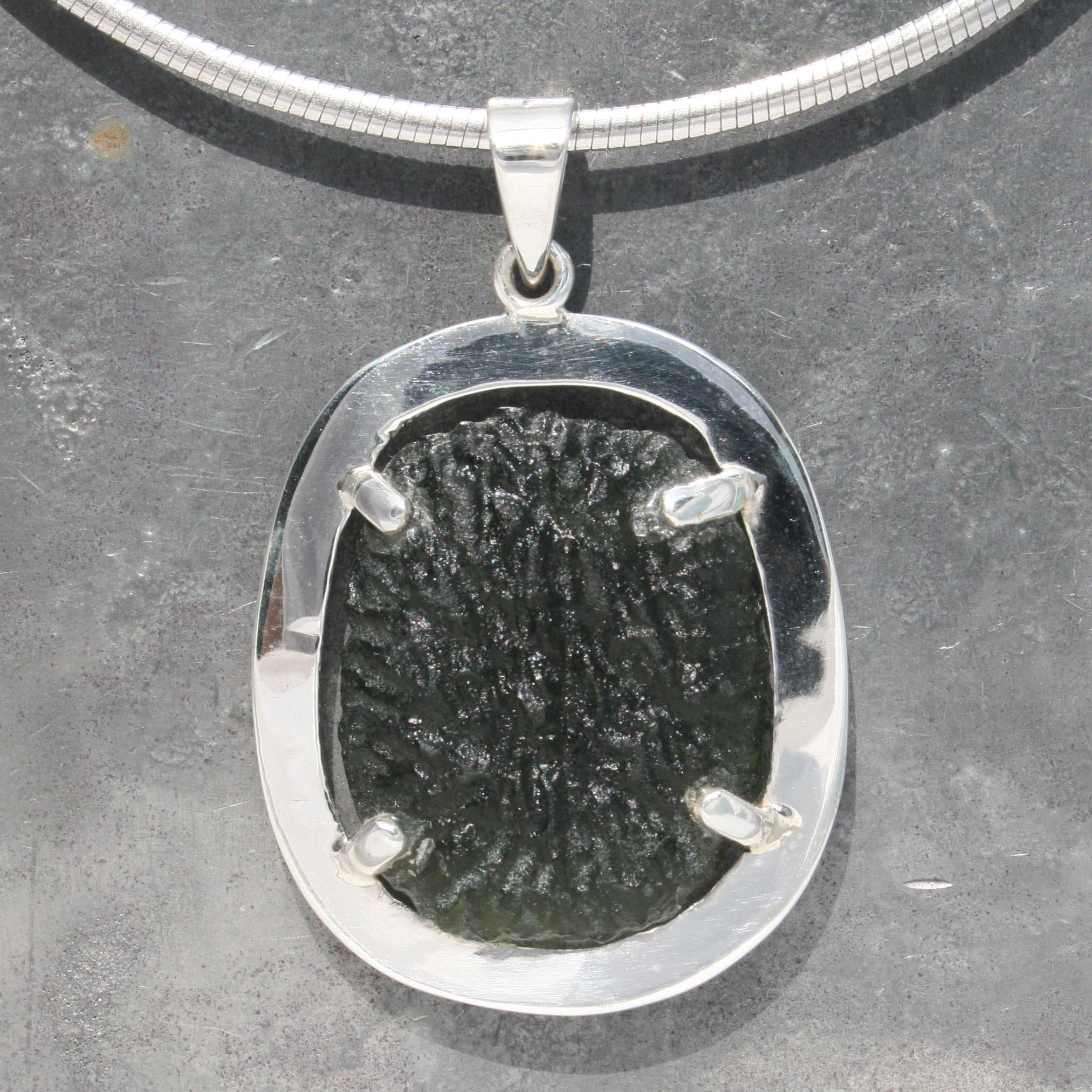 Moldavite pendant lumina jewellery moldavite pendant aloadofball Gallery