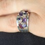 Multi Amethyst Ring 2