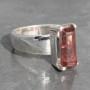Pink Tourmaline Ring 1