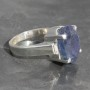Tanzanite Faceted Ring 1