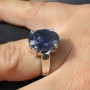 Tanzanite Faceted Ring 2