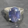 Tanzanite Faceted Ring