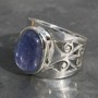 Tanzanite oval Ring