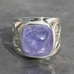 Tanzanite Sq Ring