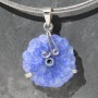 Crystal Flower Pendant
