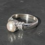 Pearl Ring 2 circle Ring a